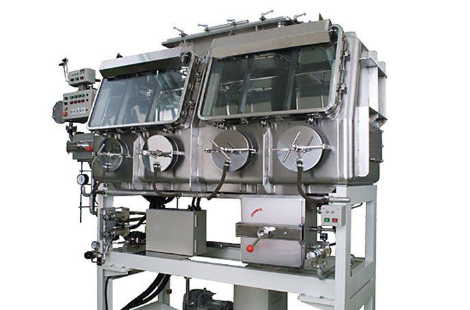 Glass panel laminator