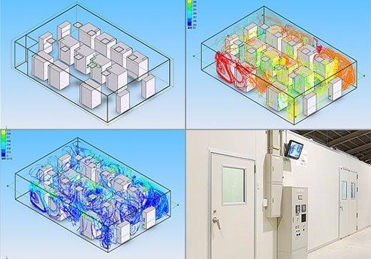 気流解析シュミレーションシステム