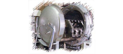 大型真空乾燥炉